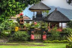 Pura Ulun Danu Bratan, Hindu temple on Bratan lake, Bali, Indonesia Stock Photography