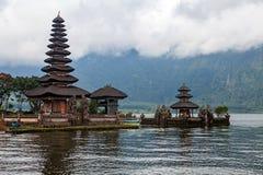 Pura Ulun Danu Bratan, Hindu temple on lake, Bali Royalty Free Stock Photos