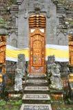 Pura Ulun Danu Bratan, Hindu temple on Bratan lake, Bali, Indonesia.  stock photo