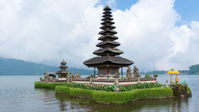 Pura Ulun Danu Bratan op Bali Royalty-vrije Stock Afbeeldingen