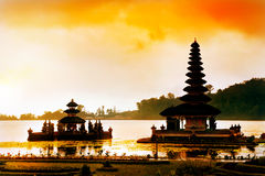 Pura Ulun Danu Bratan Temple Royalty Free Stock Images