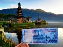 Pura Ulun Danu Bratan Temple, Bali Stock Photo