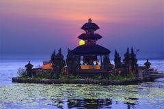 Pura Ulun Danu Bratan temple Stock Image