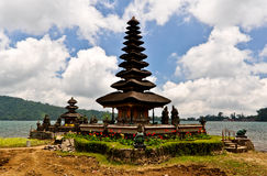 Pura Ulun Danu Bratan Temple in Bali Island, Indonesia Royalty Free Stock Images