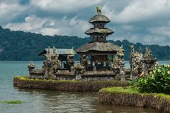 Pura Ulun Danu Bratan Temple. Bratan Lake, Bali, Indonesia. Pura Ulun Danu Bratan Temple. Bratan Lake, Bali, Indonesia royalty free stock photos
