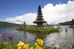 Pura Ulun Danu Bratan, temple in the lake of Bali Royalty Free Stock Image