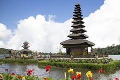 Pura Ulun Danu Bratan, temple in the lake of Bali Royalty Free Stock Photos