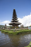 Pura Ulun Danu Bratan, temple in the lake of Bali Royalty Free Stock Photos