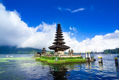 Pura Ulun Danu Bratan, a water temple on Bali, Indonesia Royalty Free Stock Image