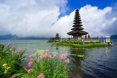 Pura Ulun Danu Bratan, a water temple on Bali, Indonesia Royalty Free Stock Photos