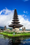 Pura Ulun Danu Bratan, a water temple on Bali, Indonesia Royalty Free Stock Photography