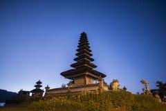 Pura Ulun Danu Bratan Water Temple at sunrise Bali ,Indonesia. Stock Image