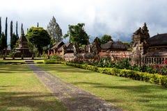 Pura Ulun Danu garden Stock Photography