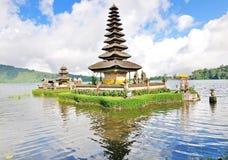 Pura Ulun Danu on a lake Beratan. Bali Royalty Free Stock Images
