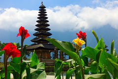Pura Ulun Danu temple in Bali Royalty Free Stock Images