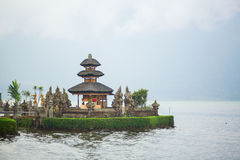 Pura Ulun Danu temple in Bali Stock Photos