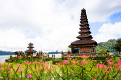 Pura Ulun Danu temple on a lake Beratan. Bali ,Indonesia Royalty Free Stock Photography