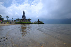 Pura Ulun Danu temple on a lake Beratan. Bali ,Indonesia Royalty Free Stock Photos