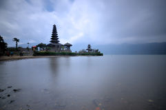 Pura Ulun Danu temple on a lake Beratan. Bali ,Indonesia Stock Photography