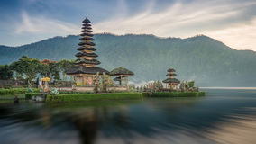 Pura Ulun Danu temple on a lake Beratan Royalty Free Stock Photo