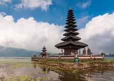 Pura Ulun Danu temple on a lake Bratan Royalty Free Stock Photo