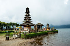 Pura Ulun Danu water temple on a lake Beratan. Bali Royalty Free Stock Images
