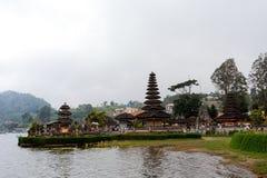 Pura Ulun Danu water temple on a lake Beratan. Bali Royalty Free Stock Images