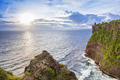 Pura Uluwatu temple Royalty Free Stock Image