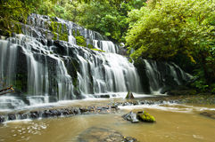 Purakanui Falls Catlins District South Otago Royalty Free Stock Images