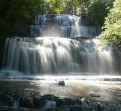 purakaunui парка острова пущи catlins водопад zealand нового южный Стоковое Фото