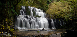 Purakaunui Falls Royalty Free Stock Photography