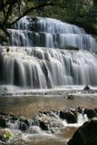 Purakaunui falls. Catlin's, Southland, south island, new Zealand Royalty Free Stock Photography
