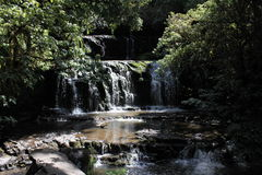 Purakaunui Falls Stock Photo
