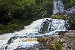 Purakaunui Wasserfall Lizenzfreie Stockfotografie