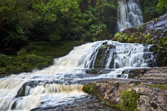 Purakaunui Waterfall - New Zealand Royalty Free Stock Photography