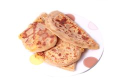 Puran Poli Stock Photo