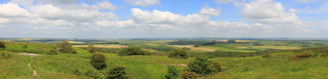 Purbeck hills, dorset Royalty Free Stock Images