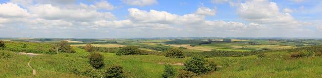 Purbeck kullar, dorset Royaltyfria Bilder