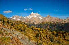 Purcell för passerande för nedgånglärkjumbo berg arkivfoto