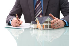 Purchase agreement for house Stock Images