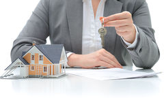 Purchase agreement for house Royalty Free Stock Photo