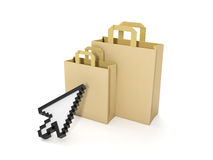 Purchase of goods Stock Photo