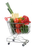 Purchase vegetables Royalty Free Stock Photography