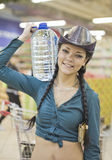 Purchase of water Royalty Free Stock Photo
