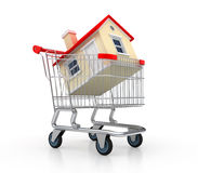Purchasing house Stock Image