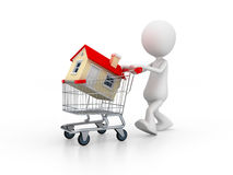 Purchasing house Royalty Free Stock Image