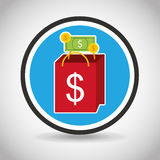 Purchasing payment design Stock Photos