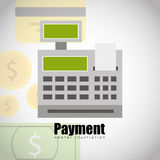 Purchasing payment design Royalty Free Stock Photography