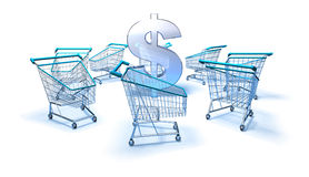 Purchasing power Royalty Free Stock Photo
