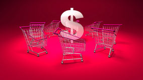 Purchasing power Stock Photography
